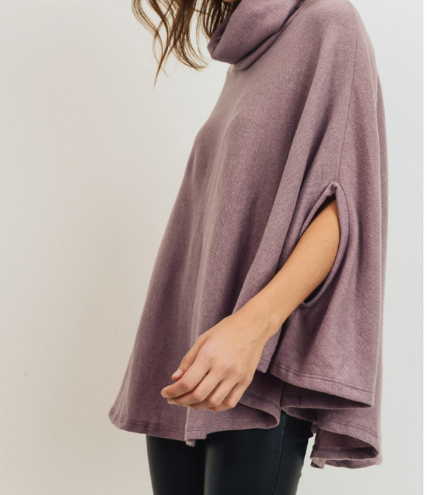 My Pretty Purple Poncho