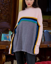 ASPEN SUNRISE COLOR BLOCK SWEATER