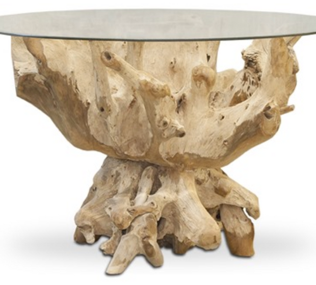 HIDDEN GEMS Teak Table Base