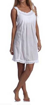 LEXI HANDMADE EMBROIDERED EYELET NIGHTGOWN BY TALEEN