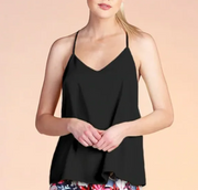 DOUBLE LAYERED RACERBACK CAMI TOP