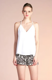 V-NECK SOLID CAMI TOP