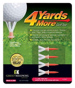 4 Yards More Golf Tee 1 3/4 Inch 4 pack