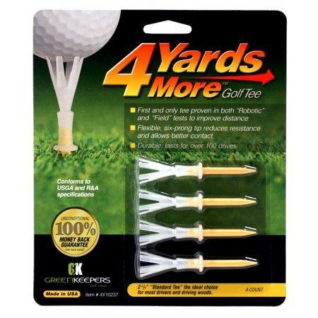 4 Yards More Golf Tee 2 3/4 Inch 4 pack