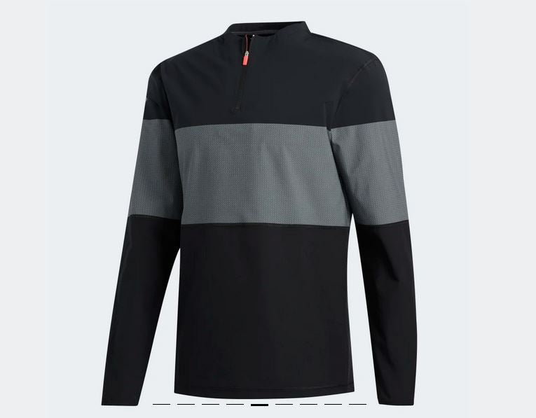 Adidas Lightweight Layering Men's 3/4 Zip FJ9935 Golf Stuff