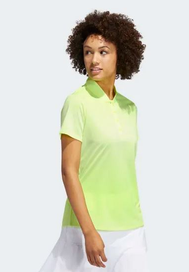 Adidas Novelty Gradient SS Women's Polo FT0418 Golf Stuff