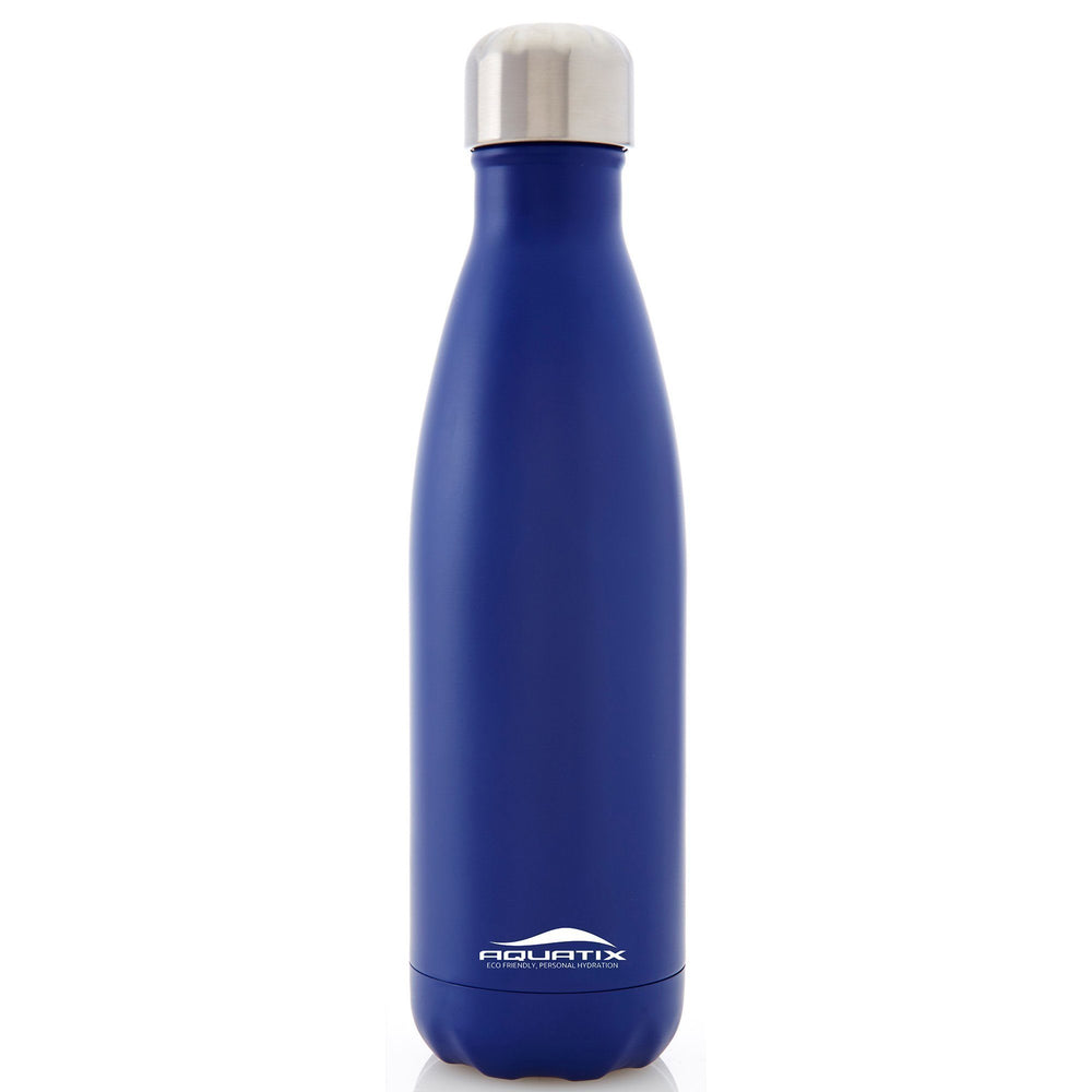 Aquatix 17oz Slim Spout Insulated Bottles Golf Stuff Royal Blue