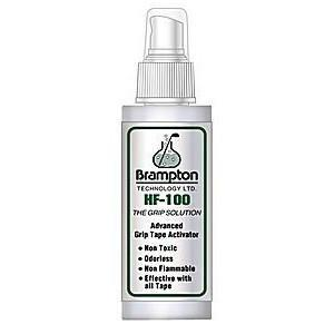 Brampton HF-100 Grip Solvent 8 Ounce Spray Bottle Regrip Supplies Golfworks Solvent