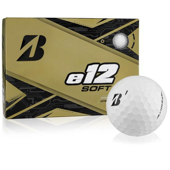 Bridgestone B e12 Soft Golf Balls Golf Stuff - Save on New and Pre-Owned Golf Equipment Box/12 White