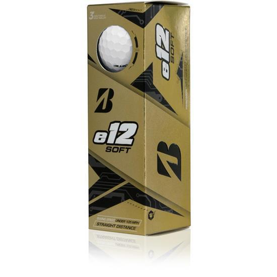 Bridgestone B e12 Soft Golf Balls Golf Stuff - Save on New and Pre-Owned Golf Equipment Slv/3 White