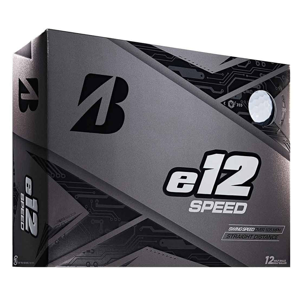 Bridgestone E12 Speed Golf Balls Golf Stuff - Save on New and Pre-Owned Golf Equipment Box/12