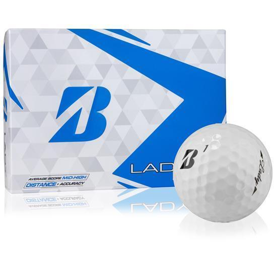 Bridgestone Golf Lady Golf Balls '19 Golf Stuff - Save on New and Pre-Owned Golf Equipment Slv/3 White