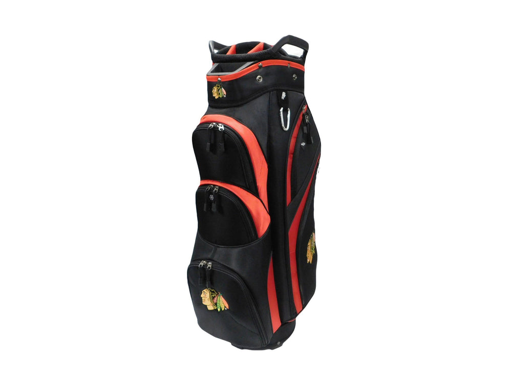 Caddy Pro NHL Cart Bags Golf Stuff - Save on New and Pre-Owned Golf Equipment Chicago Black Hawks