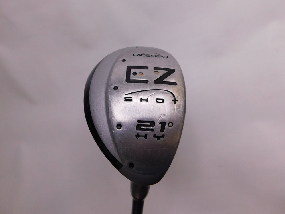 CadieGear EZ Shot #4 Hybrid 21° Graphite Regular Men's Right Golf Stuff - Save on New and Pre-Owned Golf Equipment