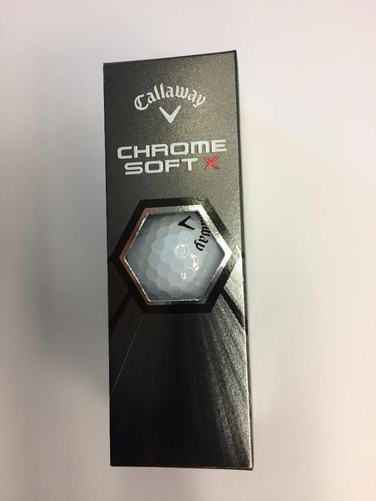 Callaway Chrome Soft X '20 White Golf Stuff Slv/3