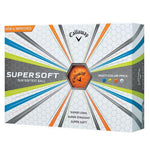 Callaway Supersoft Golf Balls '17 Callaway Golf Balls Callaway Box/12 Multi Color 2017