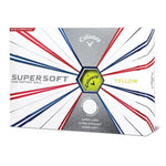 Callaway SuperSoft Golf Balls '19 Golf Stuff - Save on New and Pre-Owned Golf Equipment Yellow Box/12