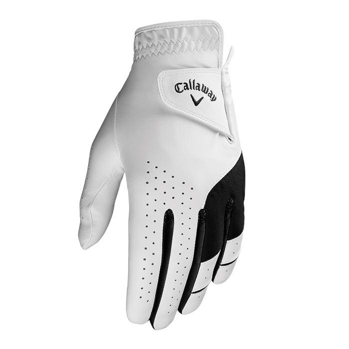 Callaway Weather Spann Golf Glove Mens White Golf Stuff - Save on New and Pre-Owned Golf Equipment