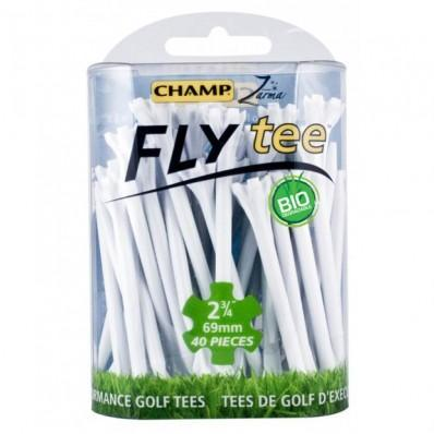 Champ Fly Tee Golf Tees TeeMate 3 1/4 White
