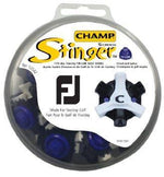 Champ Scorpion Stinger Softspikes Softspikes Golf Supply House Tri-Lok Footjoy Blk/Whi