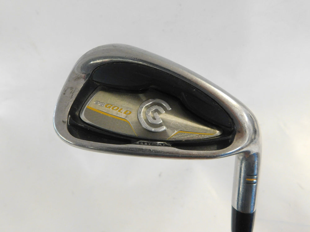 Cleveland CG Gold #9 Iron Steel Uniflex Mens Right
