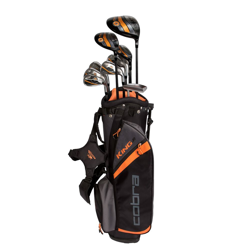 "Cobra King Jr Set/Bag Package Age 10-12 Yrs 51""-59"" Golf Stuff - Save on New and Pre-Owned Golf Equipment Left 10-12 Yr or 51"" to 59"" 7pc Set"