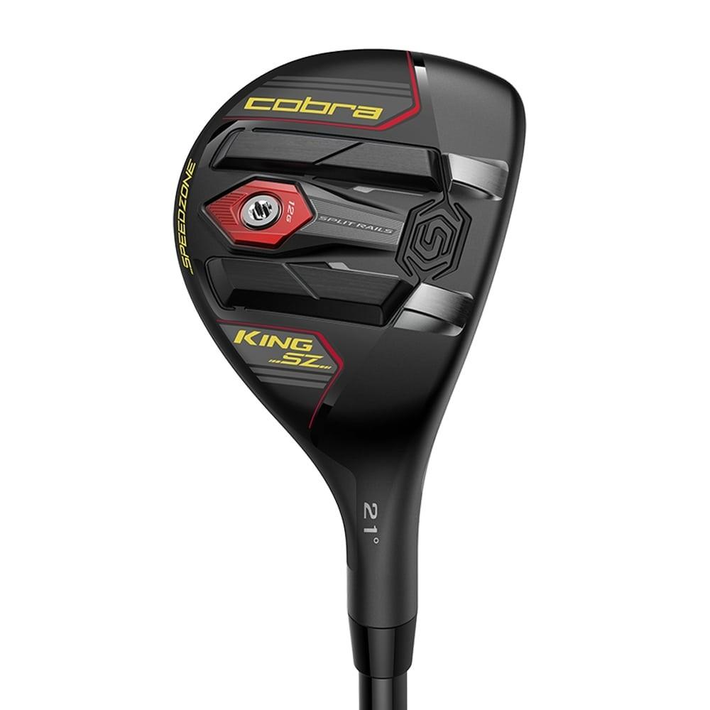 Cobra King SZ SpeedZone Hybrid Black/Yellow Golf Stuff - Low Prices - Fast Shipping - Custom Clubs Right #4/21° Recoil ESX 480/Regular