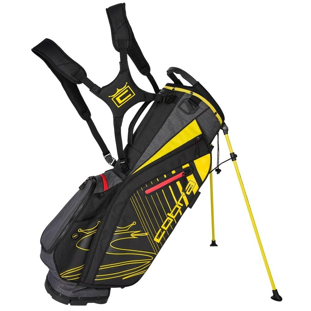 Cobra Ultralight Stand Bag UL20 Golf Stuff Black/Yellow