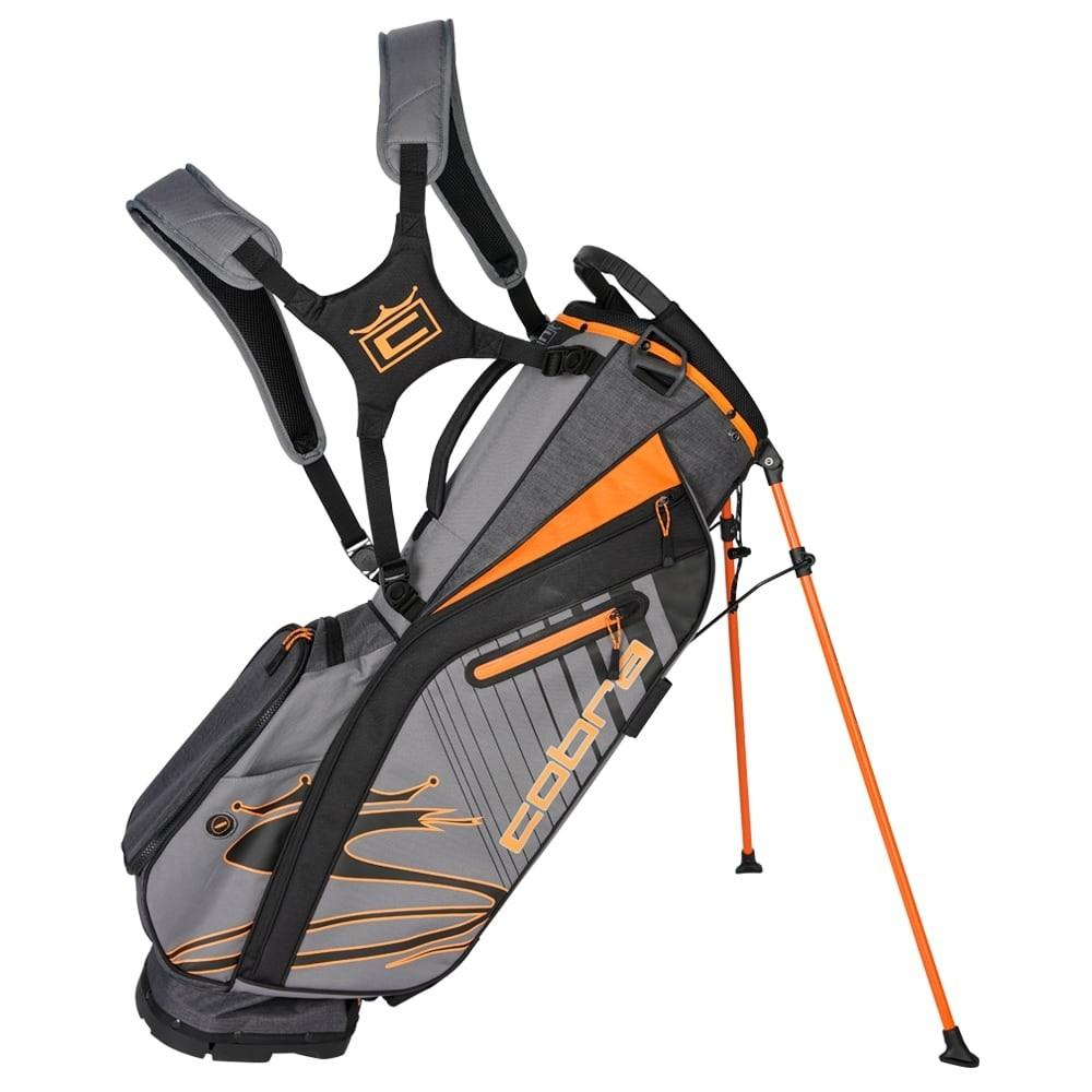 Cobra Ultralight Stand Bag UL20 Golf Stuff Quiet Shade/Vibrant Orange