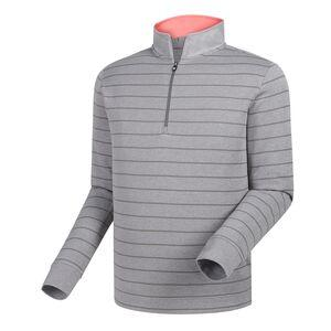 Footjoy Men's Double Layer Jersey Stripe 1/2 Zip Pullover 24784 Golf Stuff Small