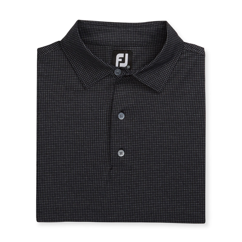 Footjoy Men's Houndstooth Polo 26089 Golf Stuff
