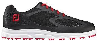 Footjoy Superlites XP Spikeless Black/Red 58027 Golf Stuff - Low Prices - Fast Shipping - Custom Clubs 7.5W