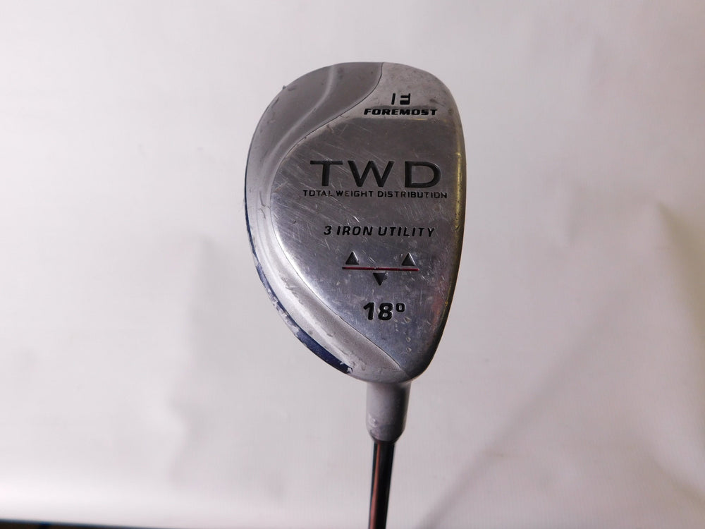 Foremost TWD #3 Hybrid 18° Steel Regular Men's Right Golf Stuff
