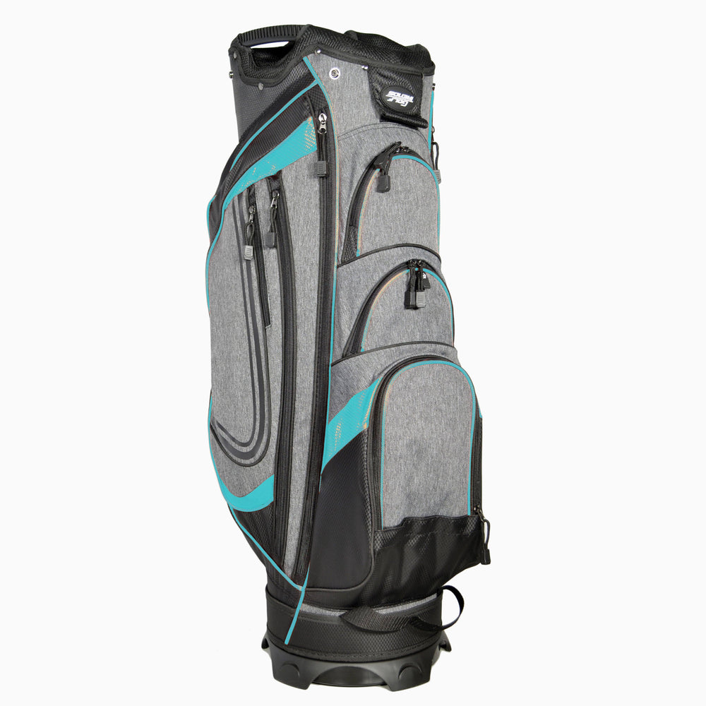Golf Trends Cruiser Cart Bag Golf Stuff - Save on New and Pre-Owned Golf Equipment Black/Grey/Teal