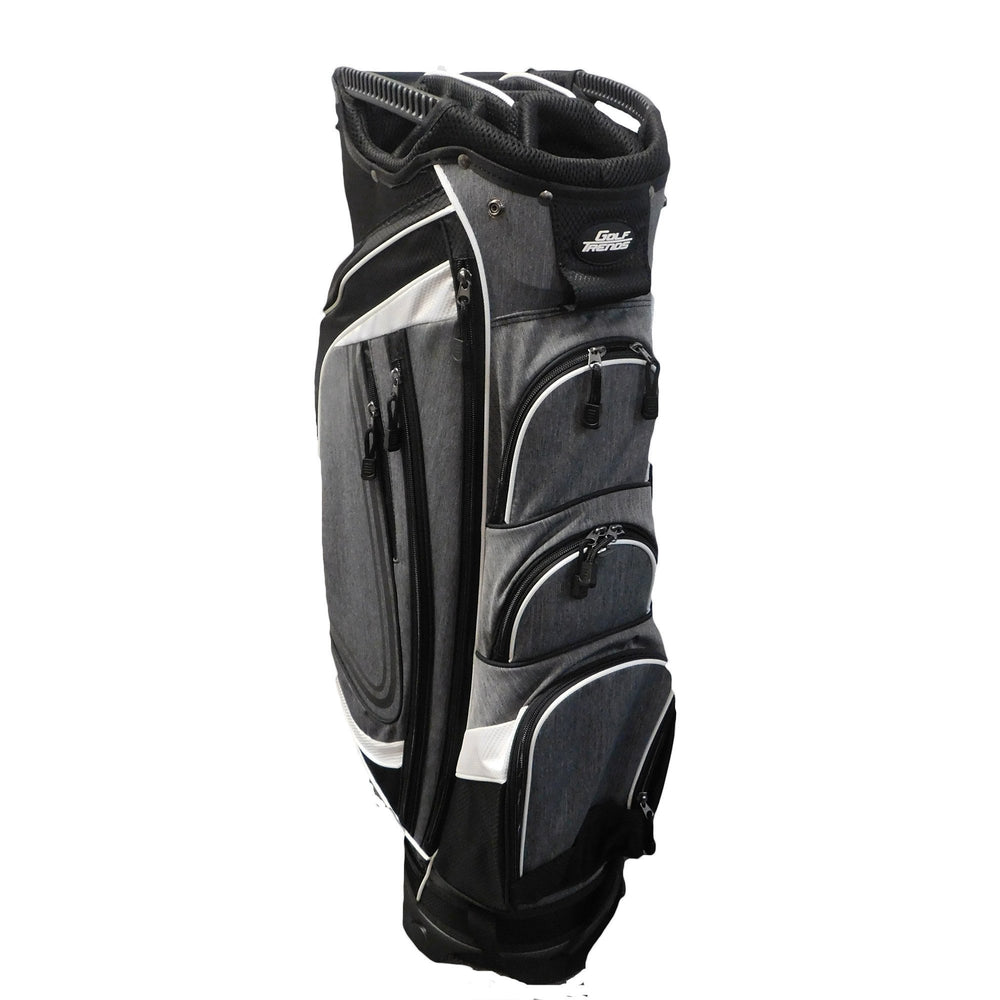 Golf Trends Cruiser Cart Bag Golf Stuff - Save on New and Pre-Owned Golf Equipment Black/White