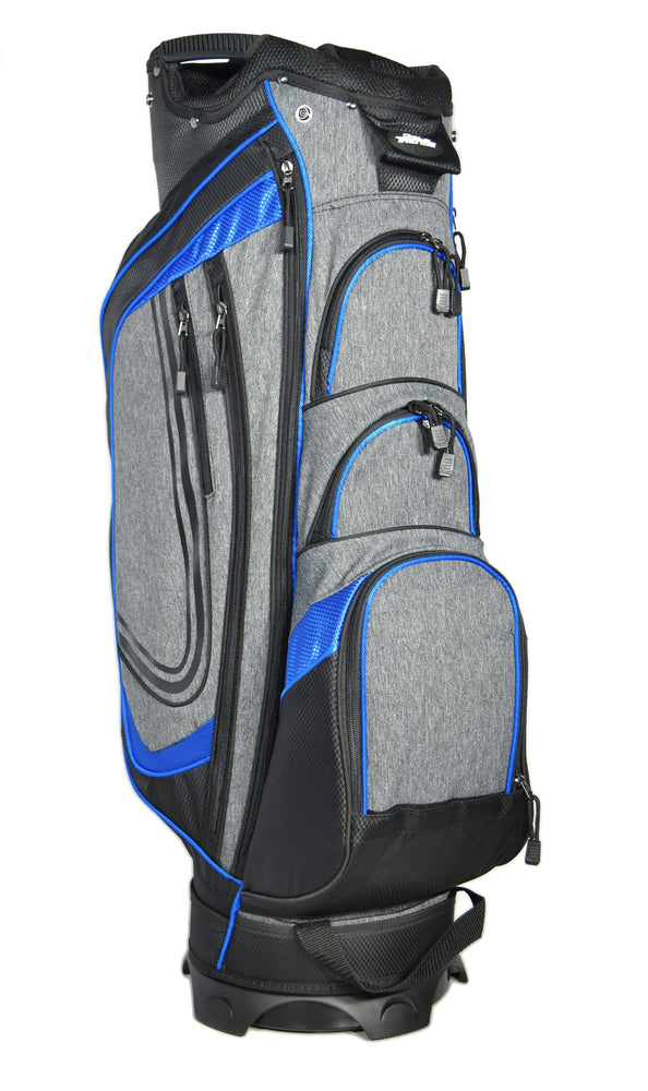 Golf Trends Cruiser Cart Bag Golf Stuff - Save on New and Pre-Owned Golf Equipment Blk/Grey/Royal