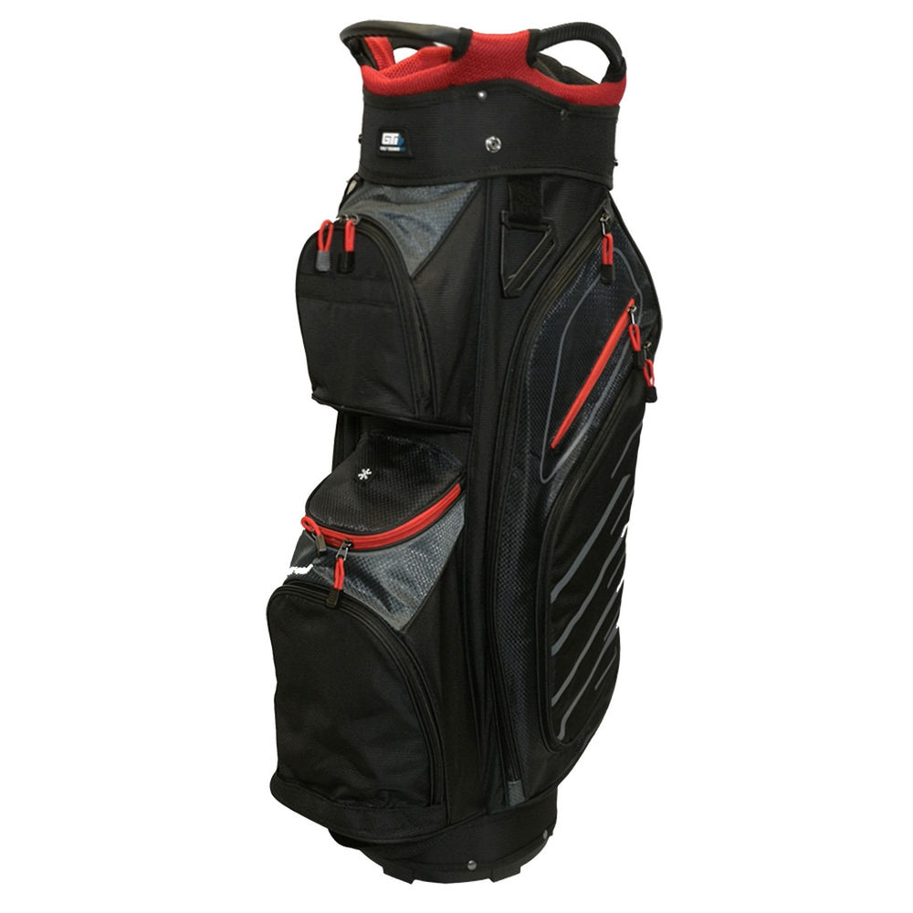Golf Trends Fairway Cart Bag Golf Stuff Black/Grey/Red