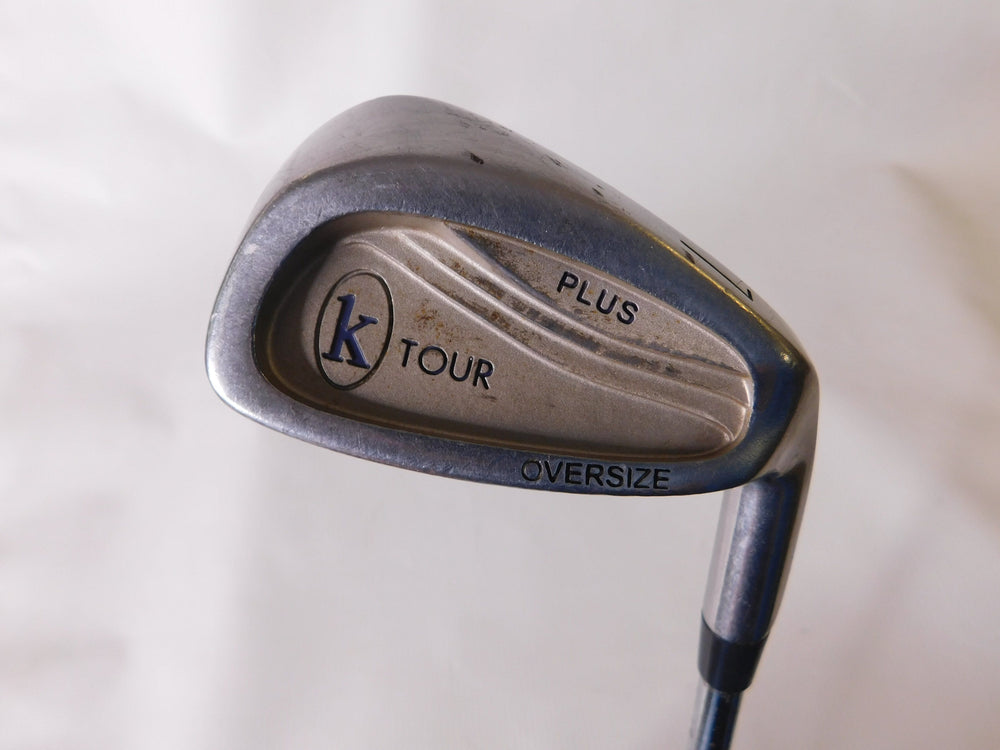 K Tour Plus OS #7 Iron Steel Regular Men's Right Golf Stuff