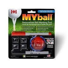 MyBall Marking Tool Accesories Golf Gifts & Gallary