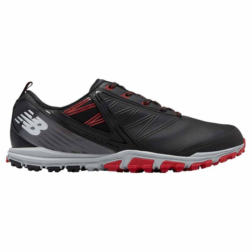 New Balance Minimus SL Men's Golf Shoes Golf Stuff - Save on New and Pre-Owned Golf Equipment Black/Red 9 Wide (2E)