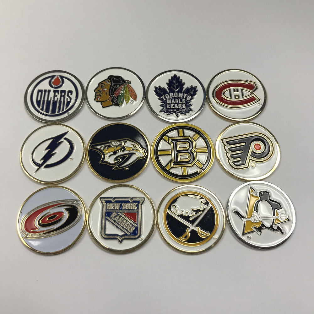 NHL Ball Marker Assorted