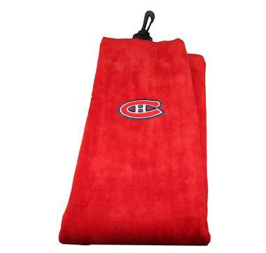 NHL Golf Towels Towel Acushnet Montreal Canadiens