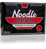 Noodle Neon Matte 2018 Colored Golf Balls Golf Stuff - Save on New and Pre-Owned Golf Equipment Red Box/12