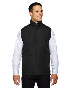 North End Techno Lite Vest Mens 88097 Golf Stuff - Save on New and Pre-Owned Golf Equipment Large Black 703