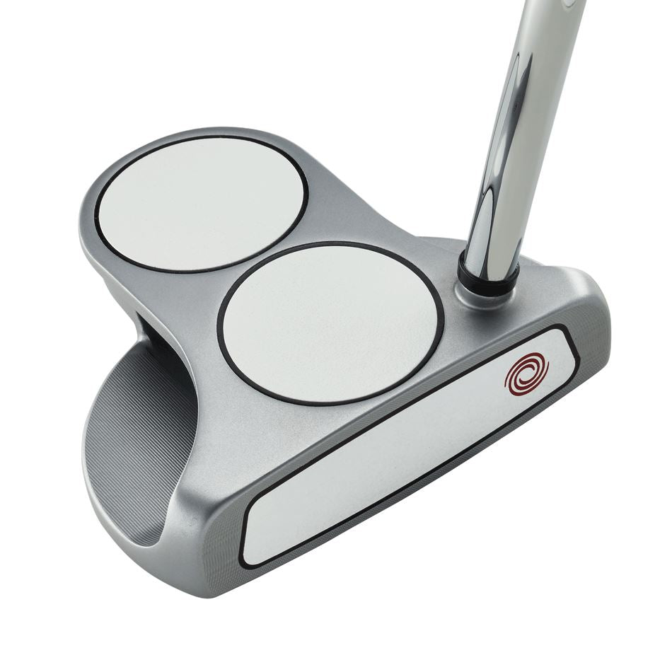 "Odyssey White Hot OG 2 Ball Putter Golf Stuff - Save on New and Pre-Owned Golf Equipment Right 35"" Gray DFX Rubber Grip"