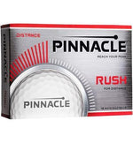 Pinnacle Rush Logo Golf Ball for Tournaments - Custom Imprint Golf Stuff - Save on New and Pre-Owned Golf Equipment 12-24 Dozen