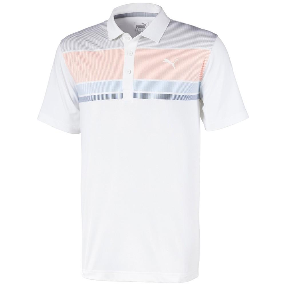 Puma Men's Road Map Polo 595788 Golf Stuff L