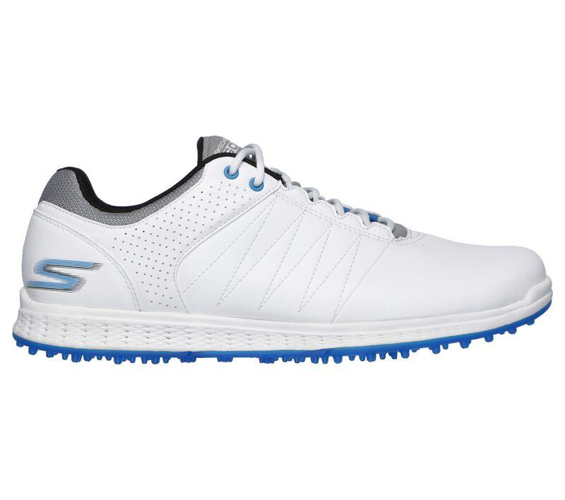 Skechers Go Golf Pivot Men's Golf Shoes Wht/Grey/Blue 54545 Golf Stuff 12 EWW