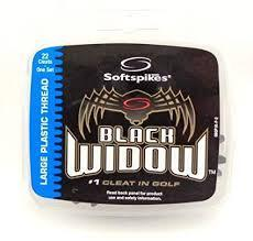 Softspikes Black Widow Shoe Spikes Softspikes Golf Supply House Large Plastic Thread