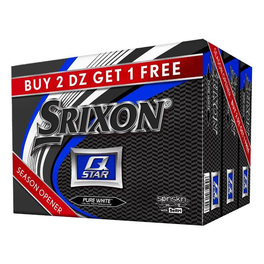 Srixon Q Star Season Opener 2+1 Golf Balls
